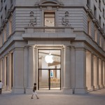 Esta es la tienda de Apple en la Pza.Catalunya de Barcelona (no se como han logrado que no haya nadie)