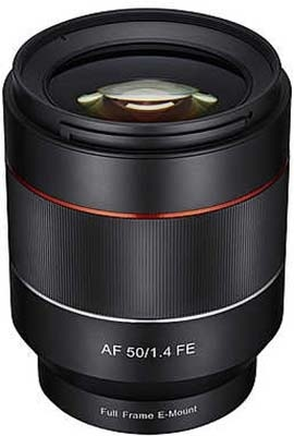 Precio del Rokinon 50mm f/1.4 (AF) para Sony E y dos análisis más sobre él.